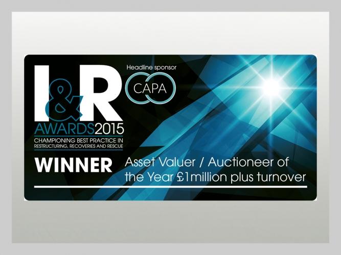 John Pye - I & R Award 2015