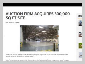 John Pye - Insider Media 300,000 sq foot