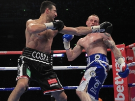 Carl Froch co-sponsored by John Pye Auctions: FROCH-GROVES 2 WBA AND IBF SUPERMIDDLEWEIGHT TITLE WEMBLEY ARENA, WEMBLEY CARL FROCH WINS BY KNOCKOUT