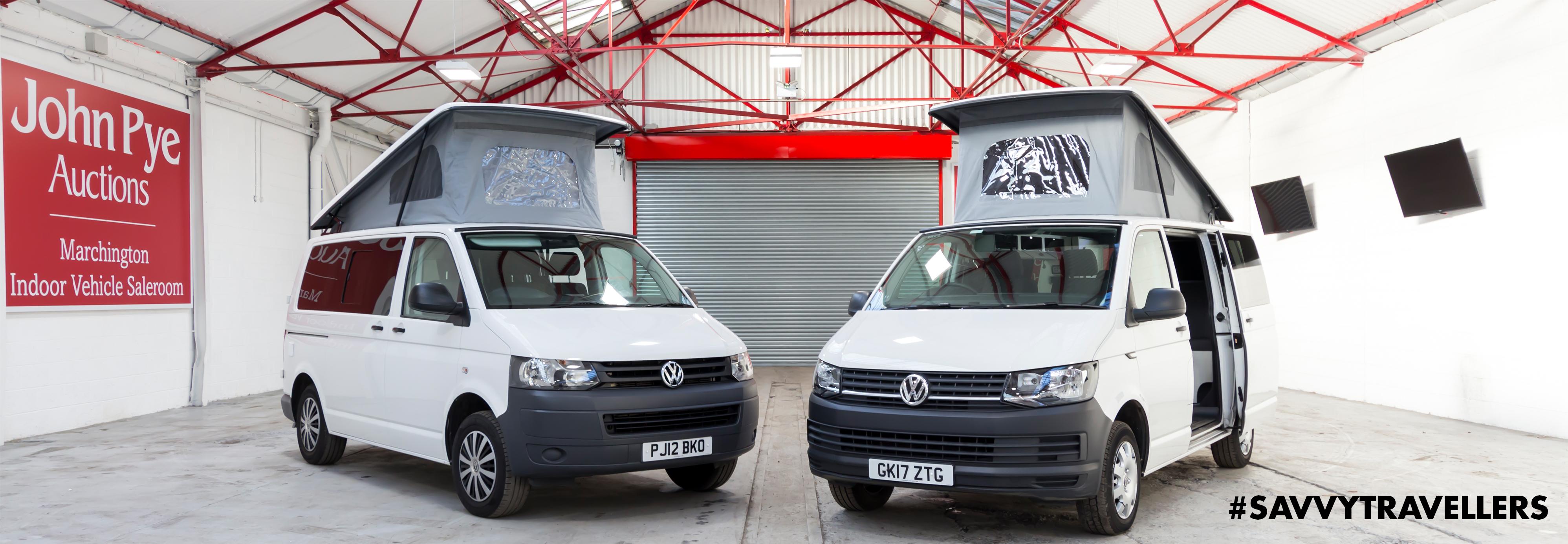 Camper Vans for Savvy Travellers - John Pye