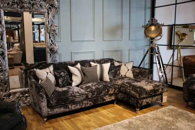 John Pye Fabb Sofas Velvet Cushions